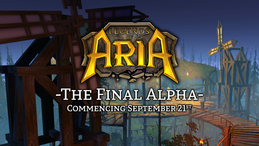 Final Alpha Launching September 28th