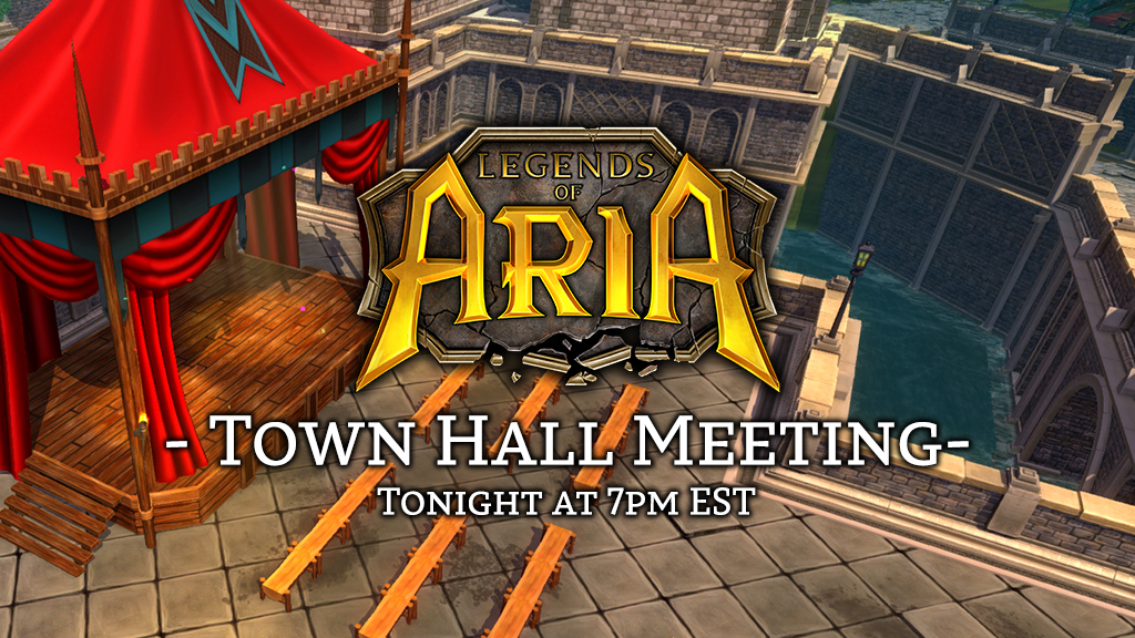 Legends of Aria Town Hall
