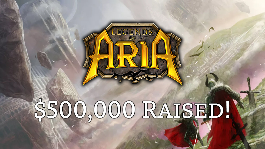 We've Reached $500,000!