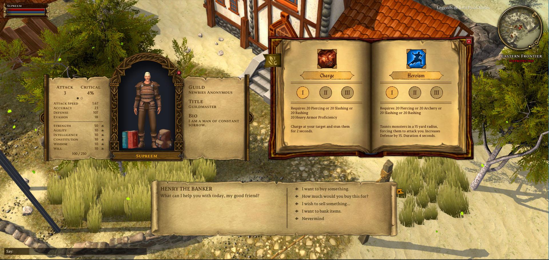 Citadel Studios, Legends of Aria