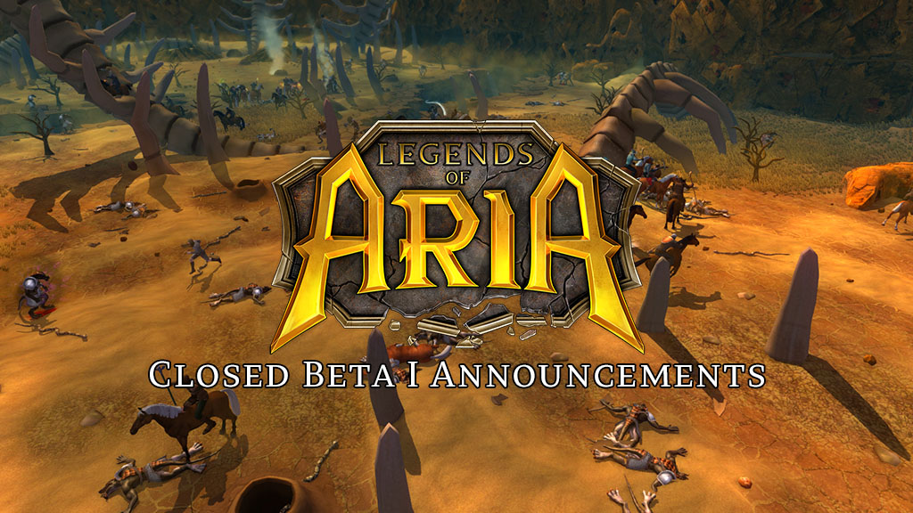Closed Beta I Announcement and Server Update
