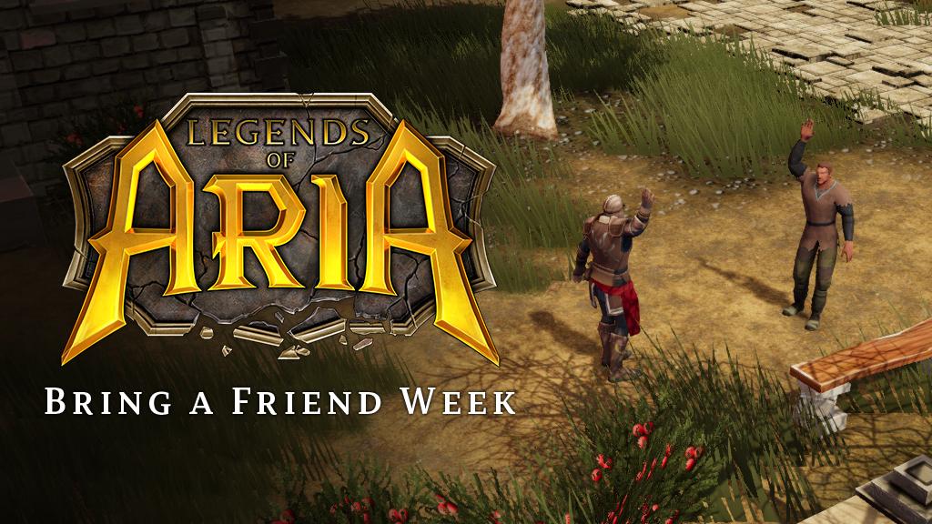 Bring-A-Friend Week!