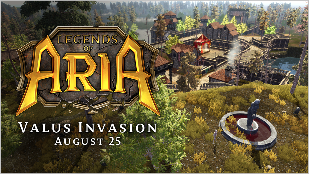 Valus Invasion Event, This Saturday!