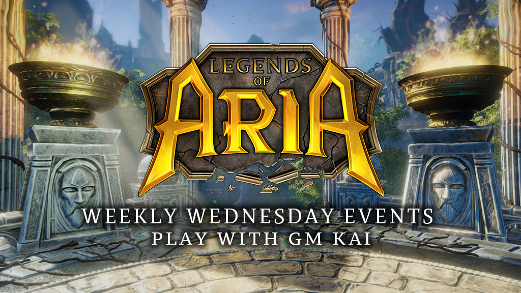 Weekly Wednesday Events – Play With GM Kai