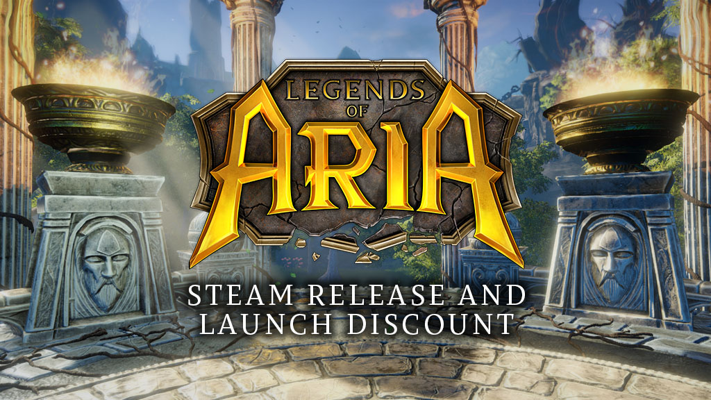 Legends of Aria Steam Release and Launch Discount