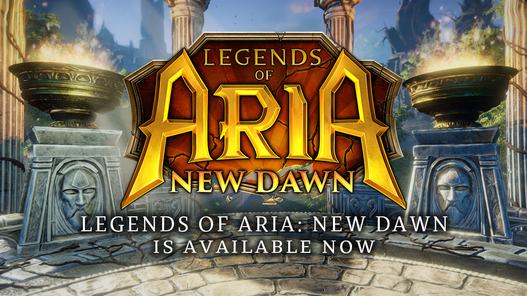 Legends of Aria: New Dawn is Live!