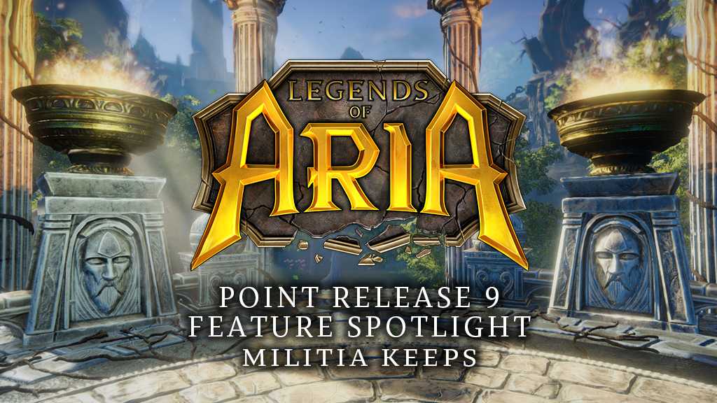 Point Release 9 Feature Spotlight: Militia Keeps