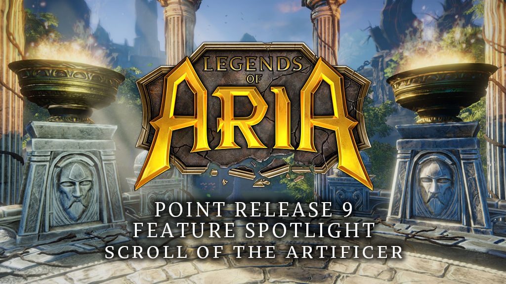 Point Release 9 Feature Spotlight: Scroll of the Artificer
