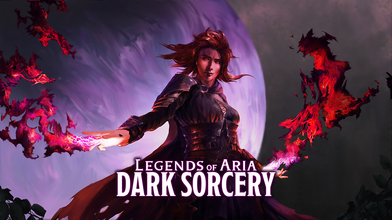 Legends of Aria: Dark Sorcery is Available Now