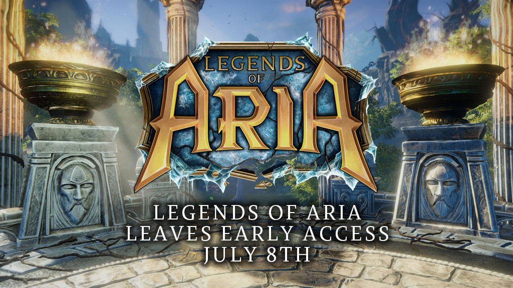 Legends of Aria Leaves Early Access July 8th